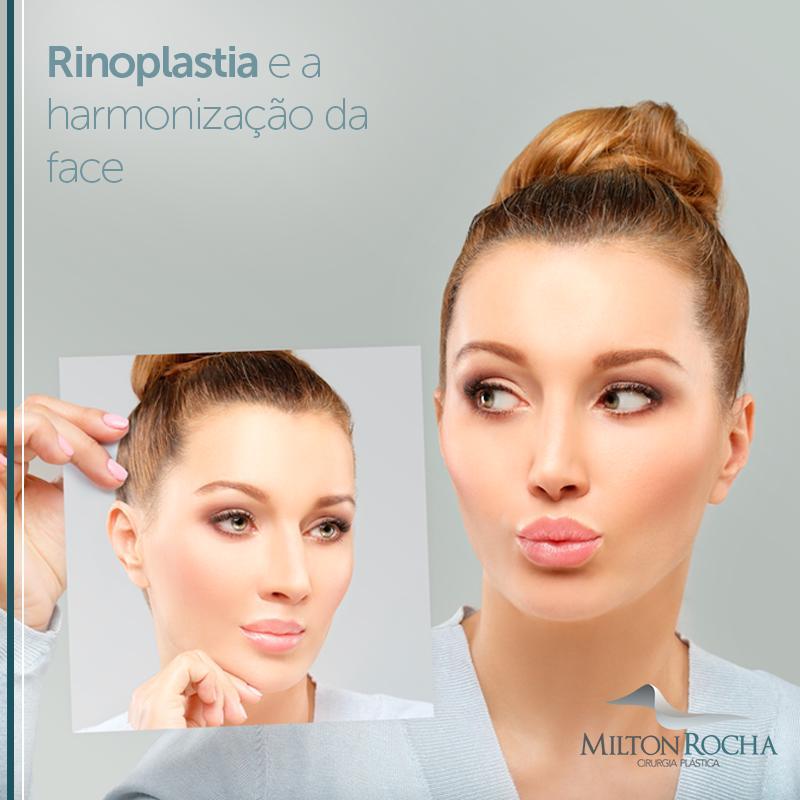 Rinoplastia e a harmonização da face