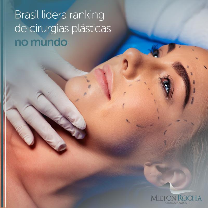Brasil lidera ranking de cirurgias plásticas no mundo