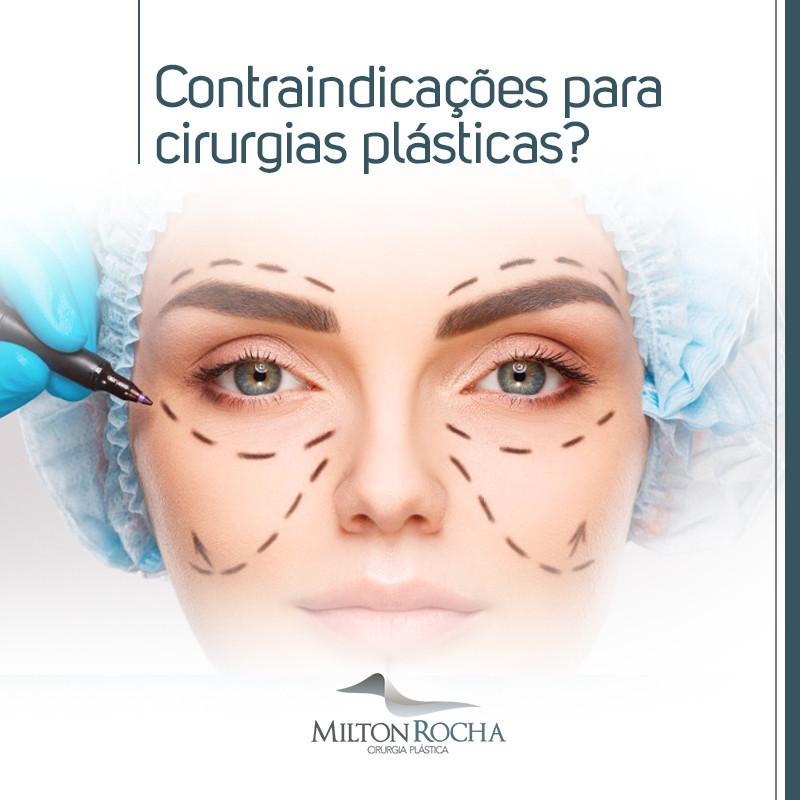 Contraindicações para cirurgias plásticas?