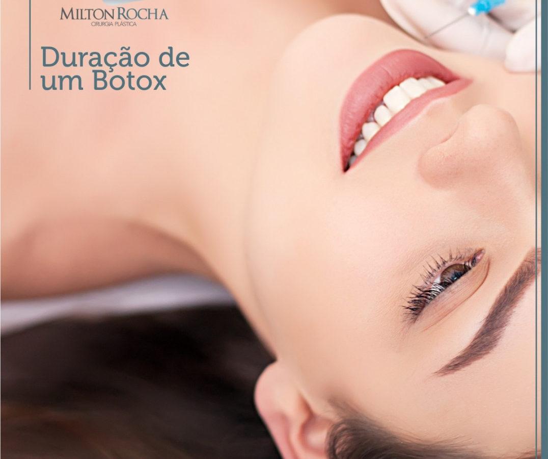 Duração de um botox