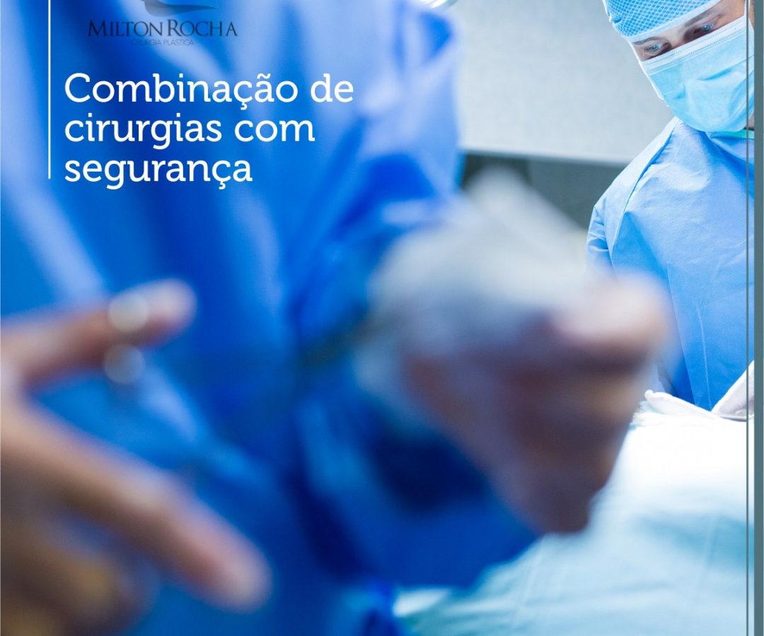 Combinação de cirurgias com segurança