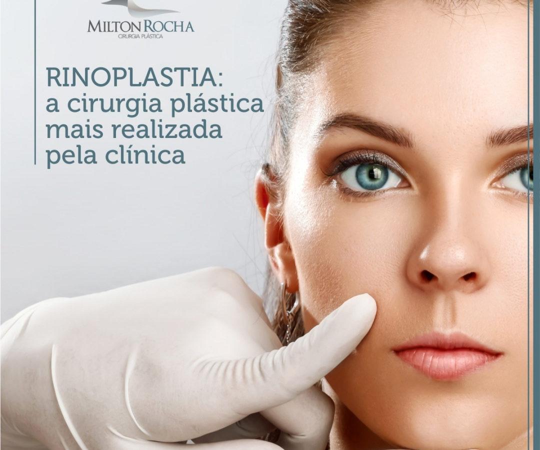 Rinoplastia: a cirurgia plástica mais realizada pela clínica