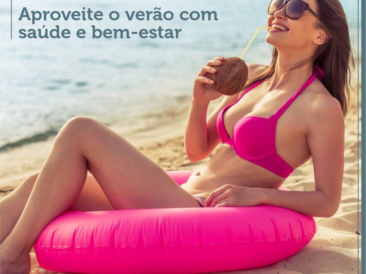 Aproveite o verão com saúde e bem-estar
