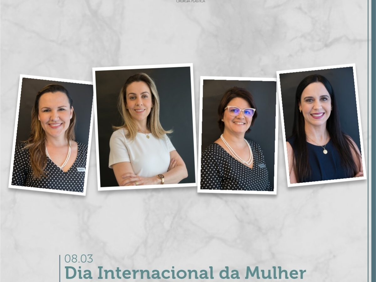 Cirurgia Plástica Recife - Dia Internacional da Mulher