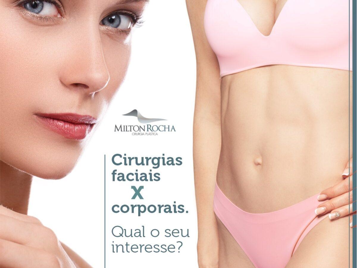 Cirurgia Plástica Recife - Cirurgias faciais X coporais. Qual seu interesse?