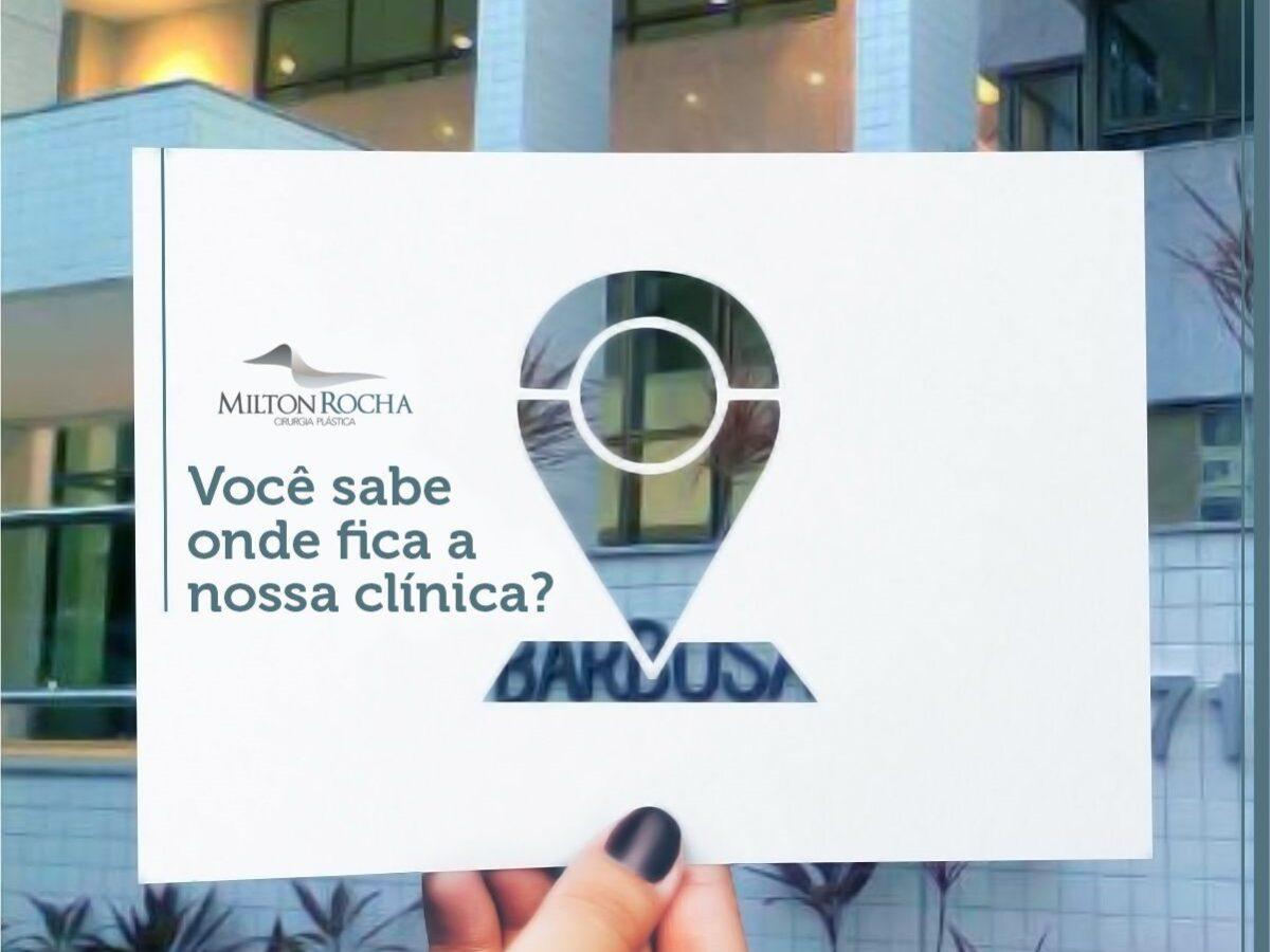 Você sabe onde fica a nossa clínica?