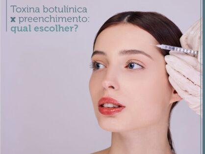Toxina botulínica X preenchimento: qual escolher?