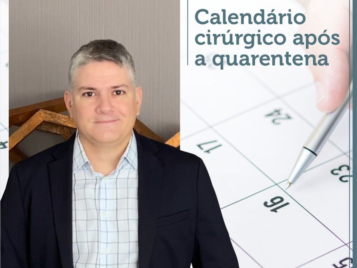 Cirurgia Plástica Recife - Calendário cirúrgico após a quarentena