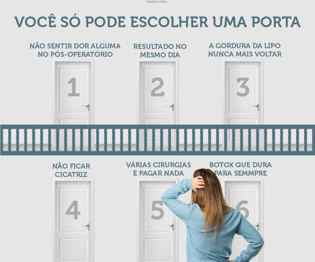 Cirurgia Plástica Recife   Você só pode escolher uma porta