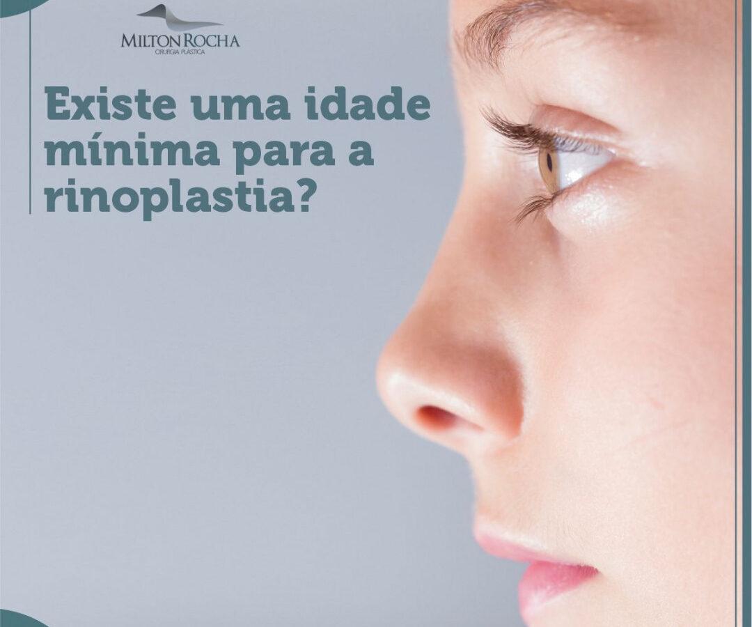 Cirurgia Plástica Recife - Existe uma idade mínima para a rinoplastia?